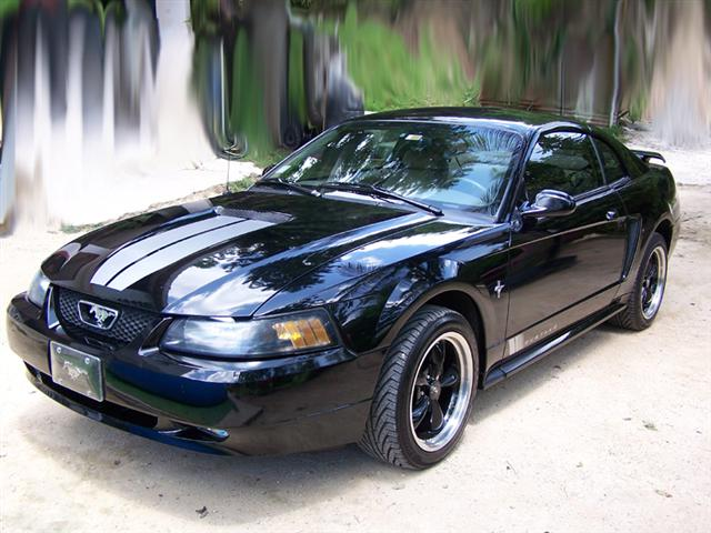 2001 Black V6 Mustang