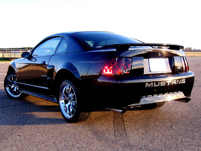 01 Mustang V6 with Taillight Inserts