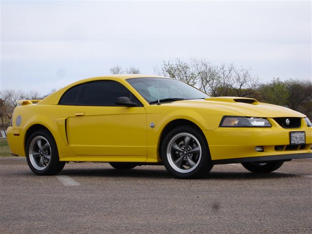 2004 Yellow Mustang