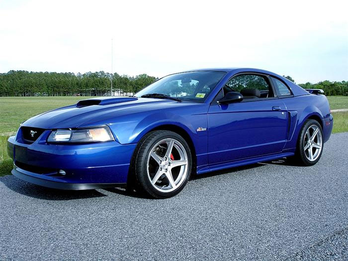 2004 Mustang GT with Hypercoated Saleen Wheels