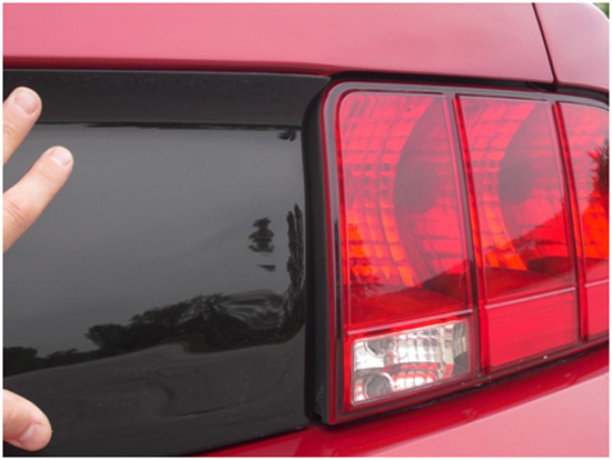 Mustang Light Covers 05-09 9