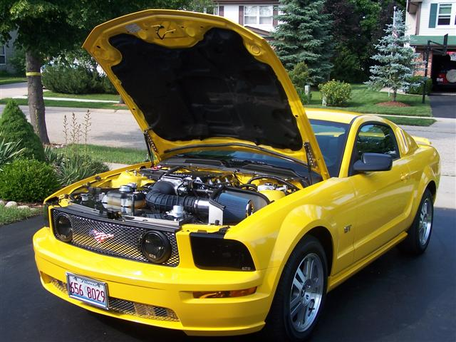 2006 yellow mustang