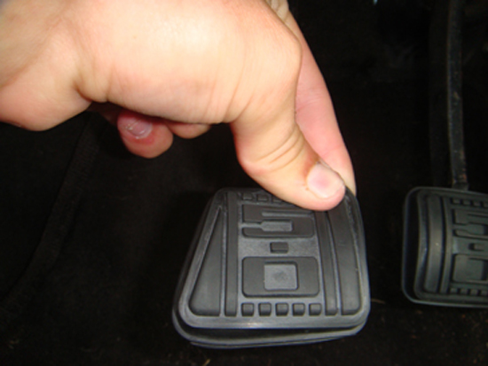 Mustang 5.0 Clutch Pedal Cover 79-93 5