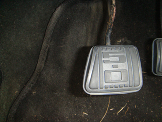 Mustang 5.0 Clutch Pedal Cover 79-93 6