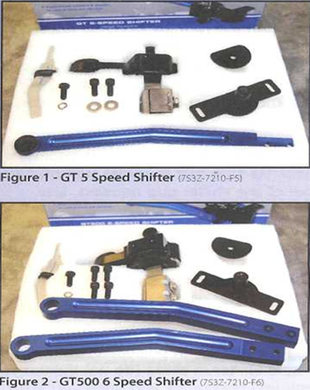 Shelby 5-Speed Short Shifter 0510 1