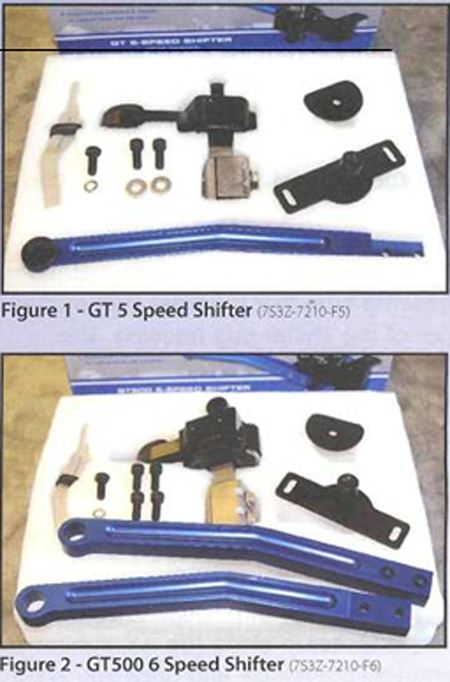 Shelby 6-Speed Short Shifter 0709GT500 1