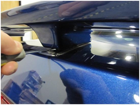 Mustang GT500 Style Rear Spoiler - Pre-painted 05-09 2