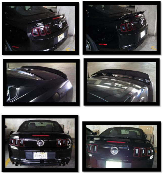 GT/CS (California Special) Spoiler � Installation Instructions 44