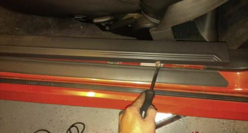 Auto Meter Cobalt Wideband Air/Fuel Gauge Install 7