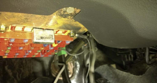 Auto Meter Cobalt Wideband Air/Fuel Gauge Install 20