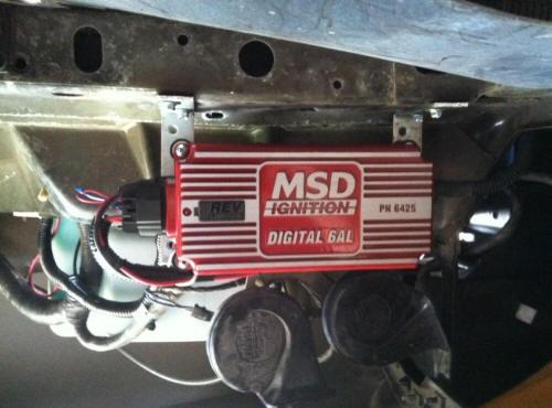 MSD 6al Installation Guide 94-95 Mustang Install 4