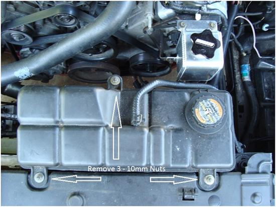 Moroso Mustang Aluminum Coolant Expansion Tank 96-04 3