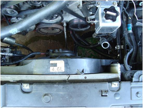 Moroso Mustang Aluminum Coolant Expansion Tank 96-04 6