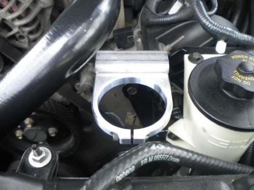 Moroso Air/Oil Separator (96-04 GT) Install 6