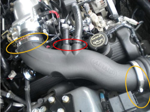 Moroso Air/Oil Separator (96-04 GT) Install 8