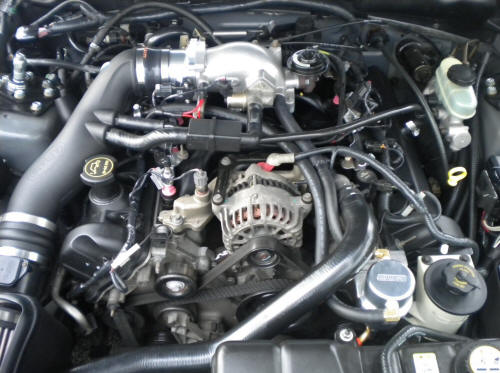 Moroso Air/Oil Separator (96-04 GT) Install 17