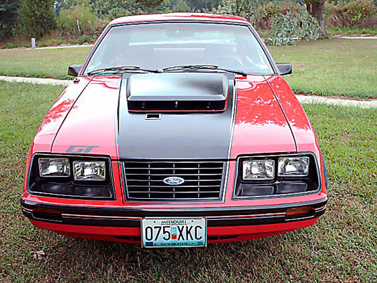 1983 Red Mustang GT 2
