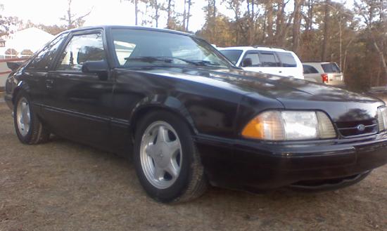 1990 Black Mustang GT 2