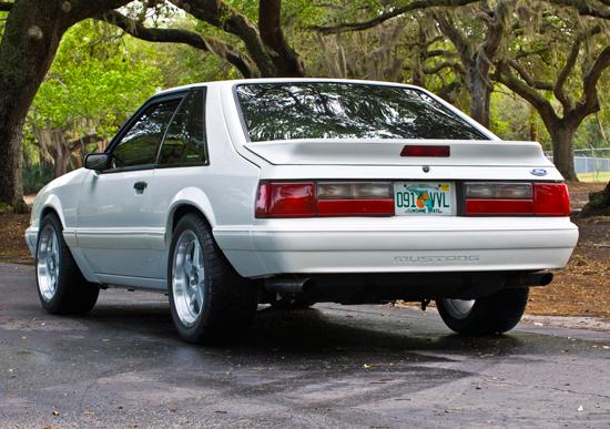 1993 Vibrant White Mustang LX 1