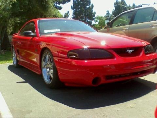 1994 Rio Red Mustang GT