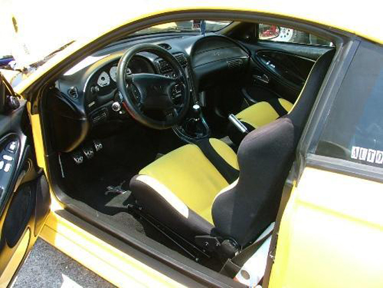 1995 Canary Yellow Mustang GT 3