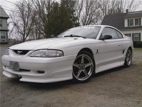 1997 Arctic White Mustang GT 01
