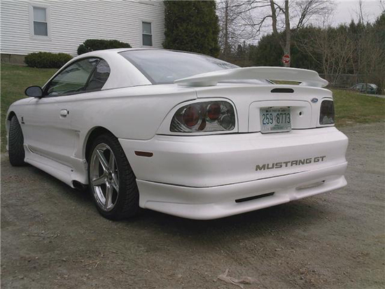 1997 Arctic White Mustang GT 2