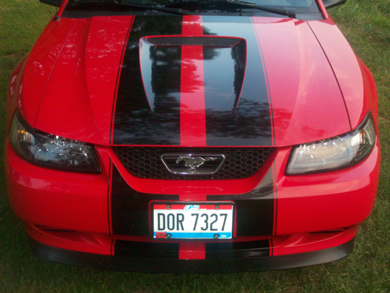 2000 Laser Red Mustang V6 02