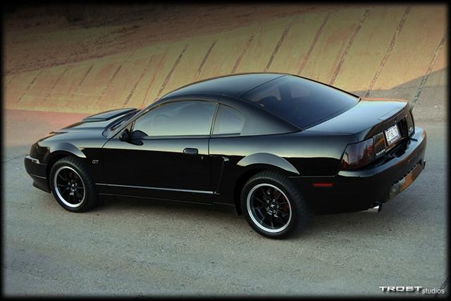 Black Bullitt Mustang