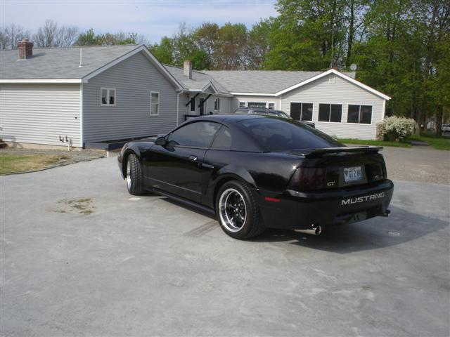 2002 Black Mustang GT