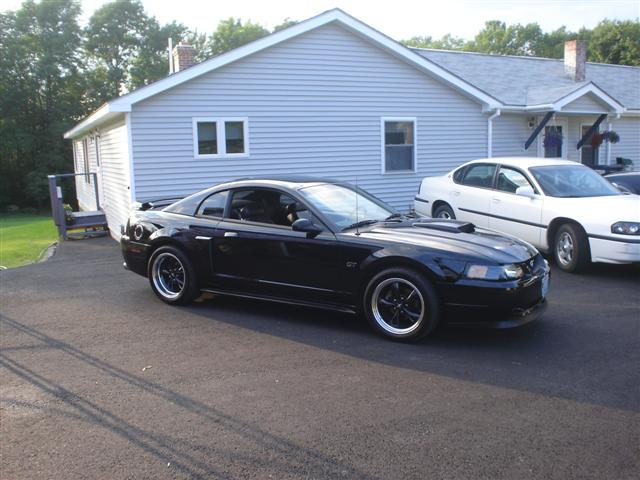 2002 Black Mustang GT