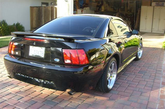 2002 black mustang