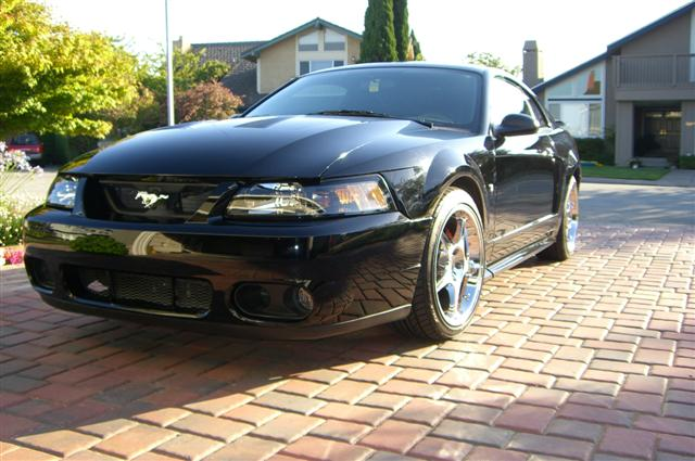 2002 mustang with cobra wheels