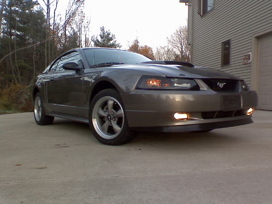 2002 Mineral Gray Mustang GT