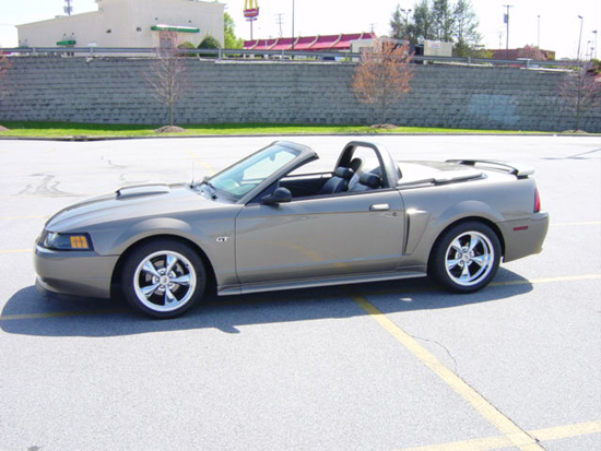 2002 Mineral Gray Mustang GT Convertible 1