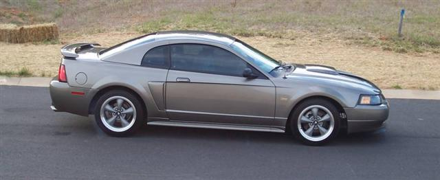 2002 Silver Mustang