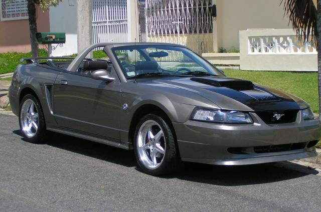 2002 Convertible Mustang