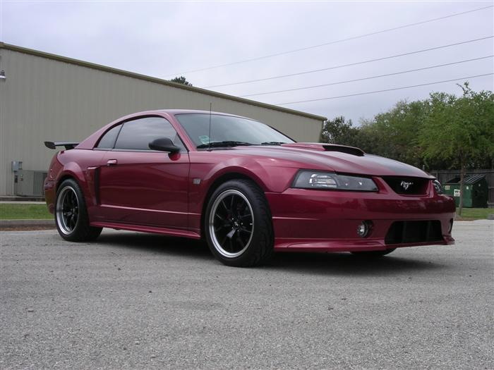 "2003 Redfire GT with 18"" Black FR500's"