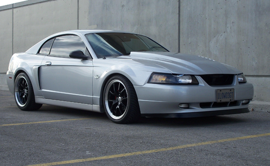 2003 Satin Silver Mustang GT 1