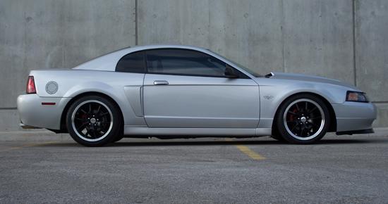 2003 Satin Silver Mustang GT 2
