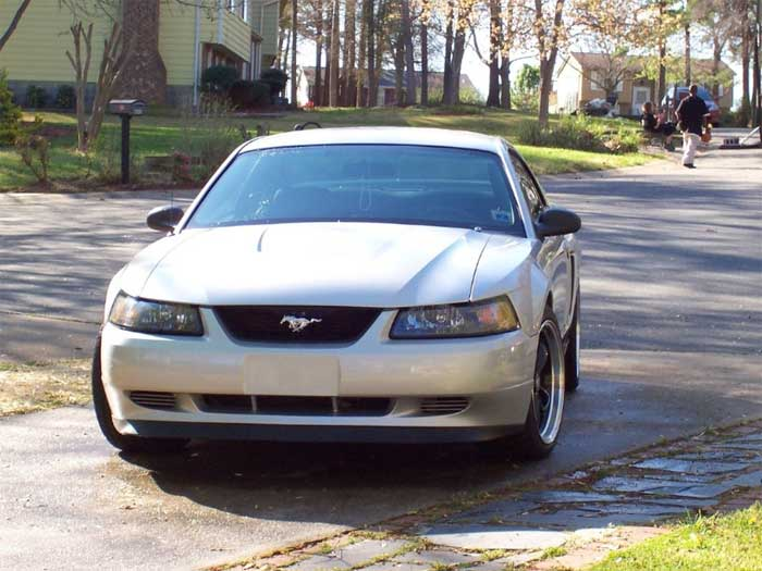 2003 Silver Mustang V6