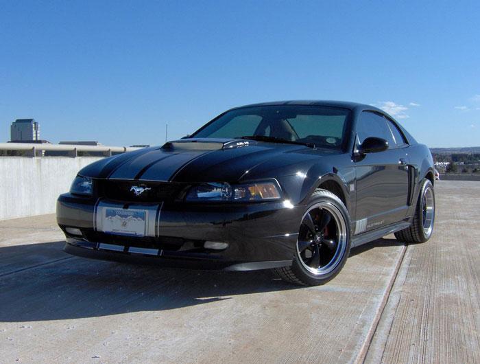 40th Anniversary Black Bullitt Mustang GT