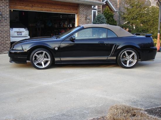 2004 Black Mustang V6 Vert 2