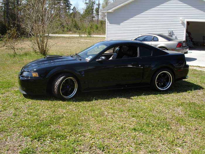 04 Black Mach1 Black Bullitt Wheels