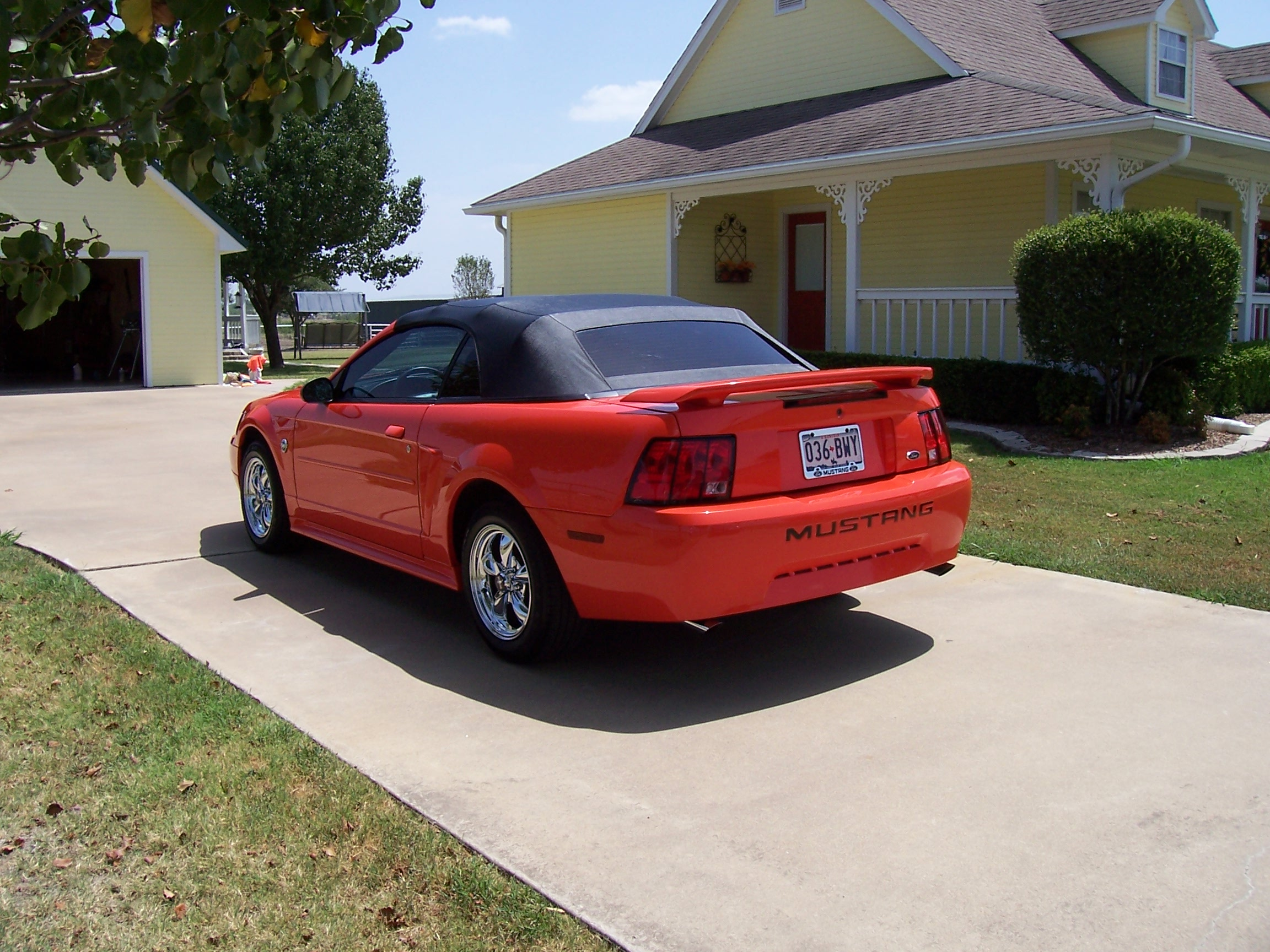 2004 Compettion orange Mustang