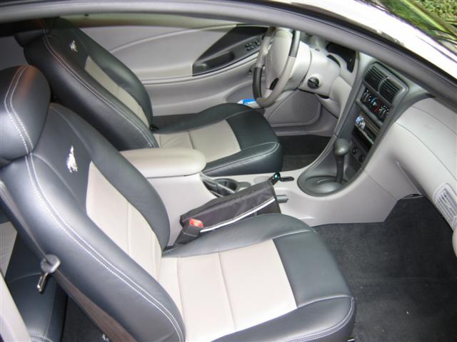 Inside of Mustang