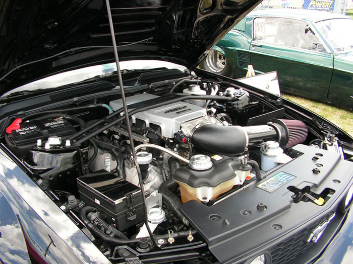 2005 Mustang GT Engine Bay