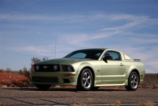 2005 Green Mustang GT