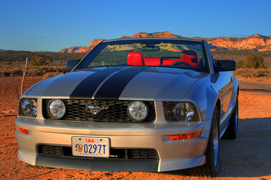 05 Mineral Gray Stang GT Vert