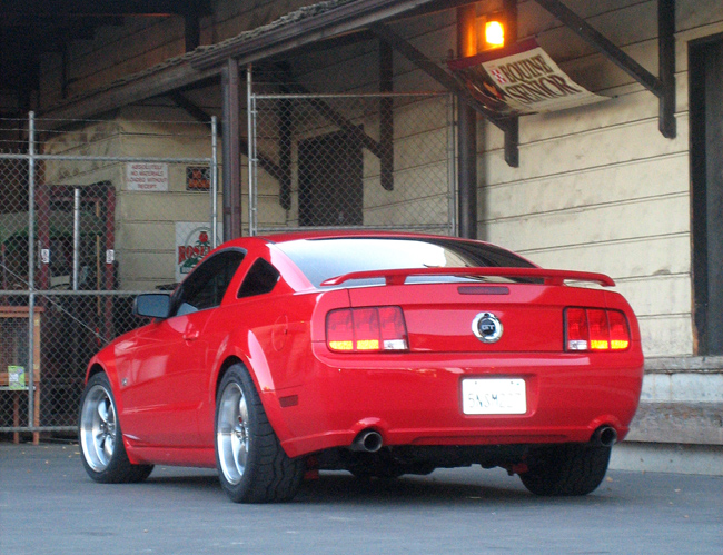2005 Torch Red Mustang GT